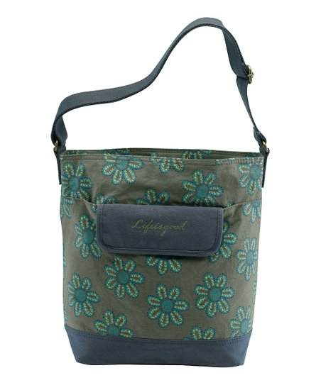 Simply Moss Toss Flower Shoulder Bag