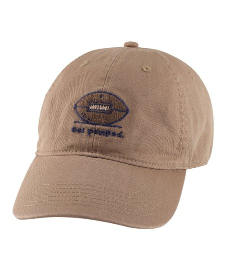 Simply Light Brown &#039;Get Pumped&#039; Chill Baseball Cap - Men