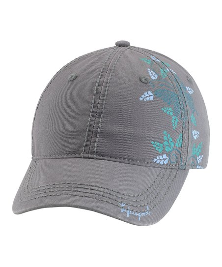 Fog Blue Graceful Butterfly Choice Baseball Cap - Women