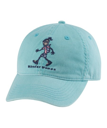 Teal 'Wander Woman' Chill Baseball Cap - Women