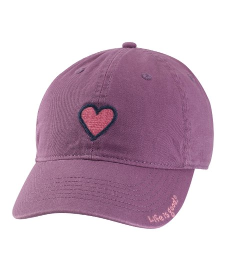 Plum Heart Chill Baseball Cap - Women