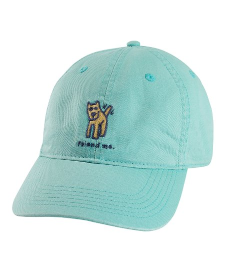 Teal 'Friend Me' Chill Baseball Cap