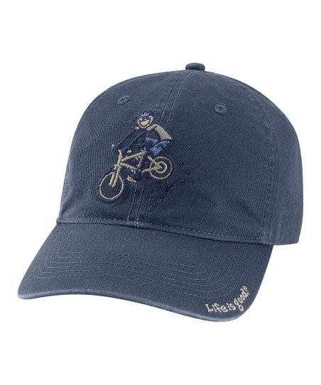 True Blue Downhill Bike Chill Baseball Cap