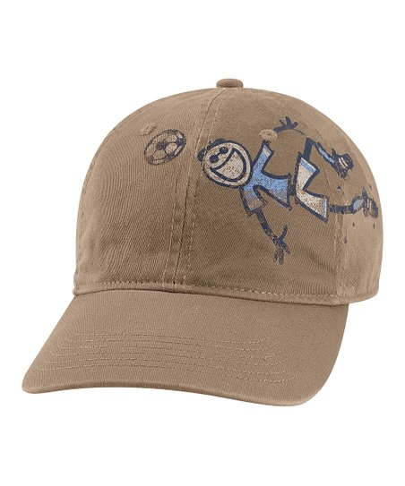 Light Brown Goal Groove Chill Baseball Cap