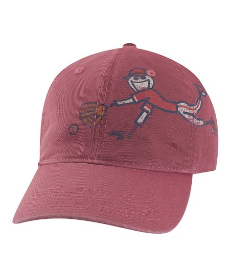 Burgundy Glove Groove Chill Baseball Cap