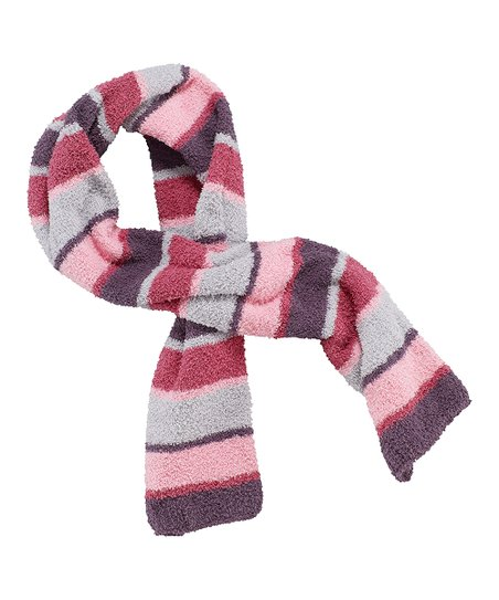 Pink Stripe Snuggle Scarf