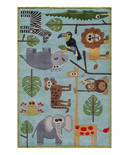 Blue Safari Rug