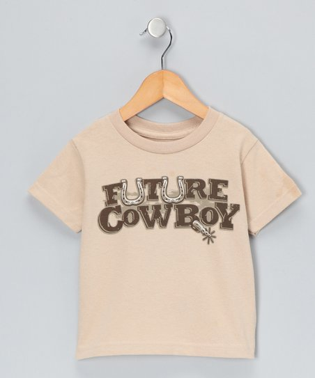 Khaki 'Future Cowboy' Tee - Toddler & Kids