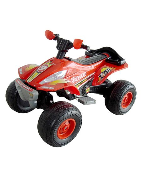 Red X-750 Exceed Speed ATV Ride-On