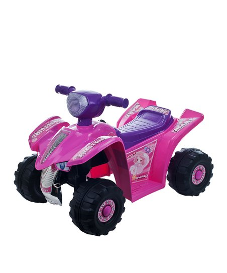 Pink Princess Quad Ride-On