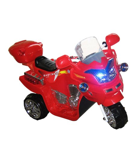 Red FX 3 Motorcycle Ride-On