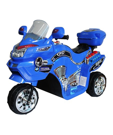 Blue FX 3 Motorcycle Ride-On