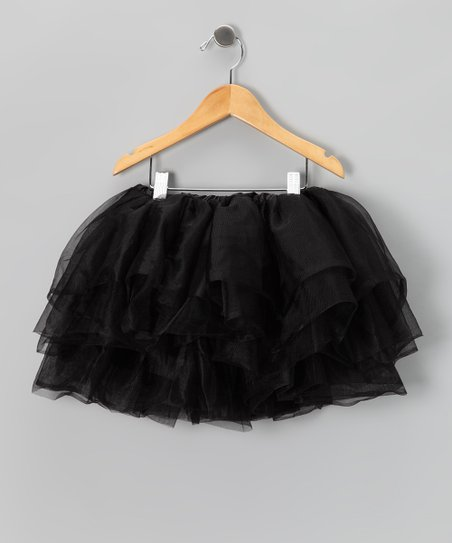 Black Five-Layer Tutu