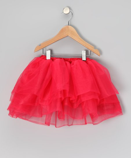 Red Five Layer Tutu