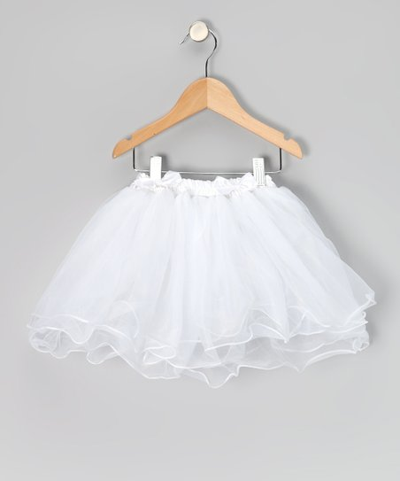 White Five Layer Tutu