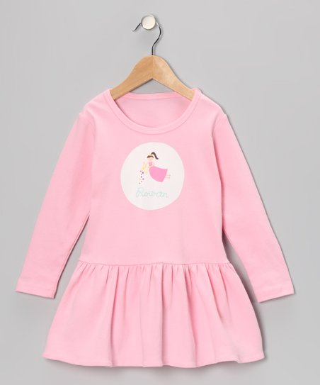 Pink Fairy Cupid Personalized Dress - Toddler &amp; Girls