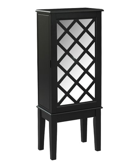 Black Helen Jewelry Armoire