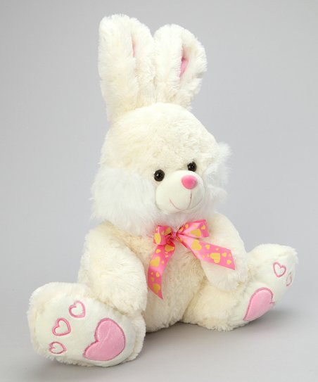 Pink Cutezee Bunny Plush Toy