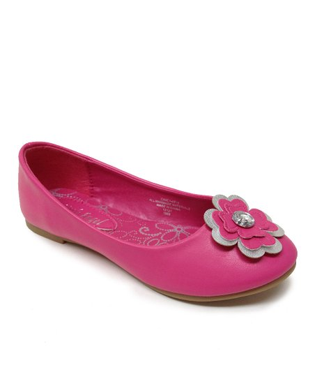 Fuchsia Flower Carly Flat