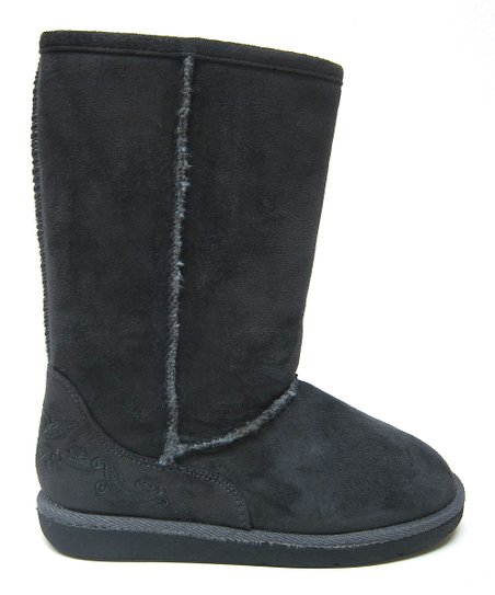 Gray Hug Boot