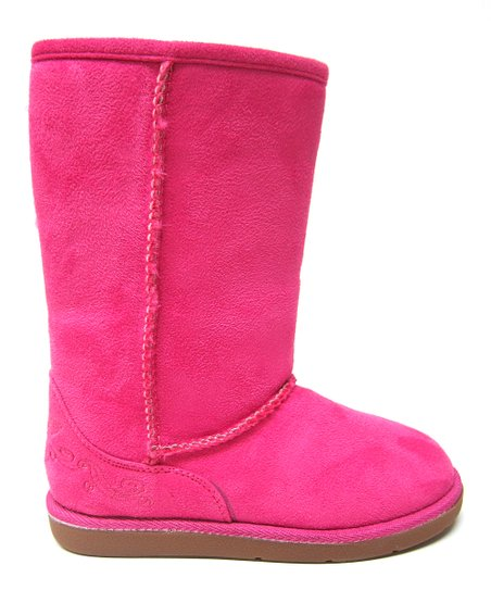 Hot Pink Hug Boot