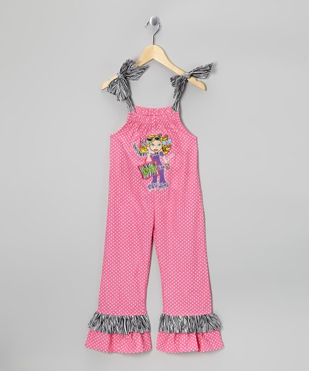 Pink Diva Jumpsuit - Toddler & Girls