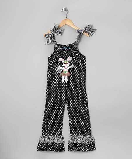 Black Bunny Jumpsuit - Infant & Toddler