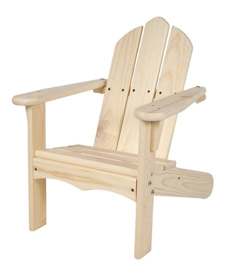 Unfinished Adirondack Chair