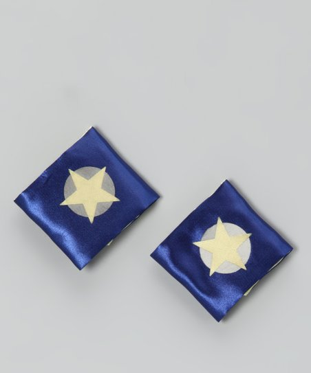 Blue &amp; Yellow Soaring Star Power Cuffs