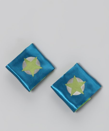Peacock & Lime Soaring Star Power Cuffs