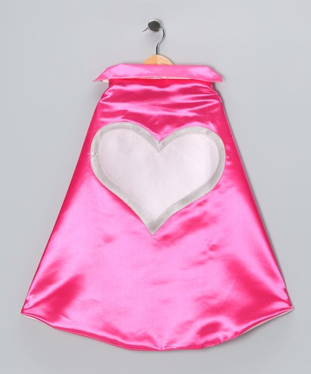 Pink Heart Two-Ply Cape