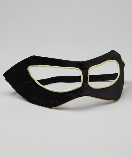 Black & Yellow Hero Mask