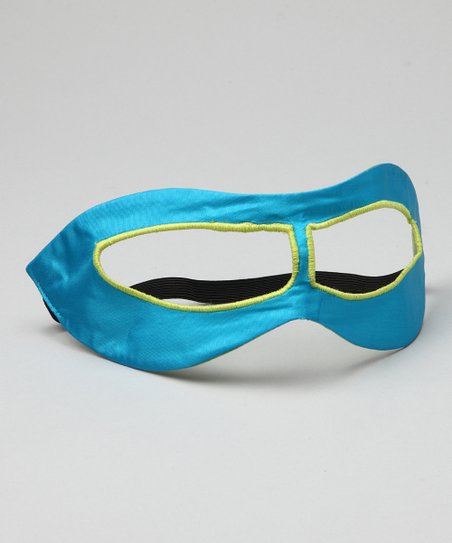 Turquoise & Lime Hero Mask