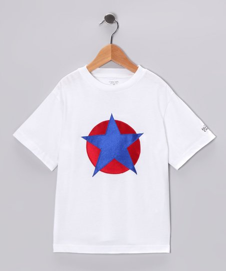 Red &amp; Blue Soaring Star Tee - Toddler &amp; Kids