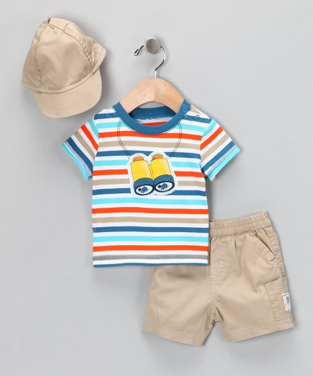 Sand Safari Shorts Set