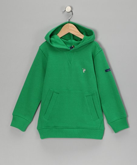 Green Organic Hoodie - Toddler & Boys