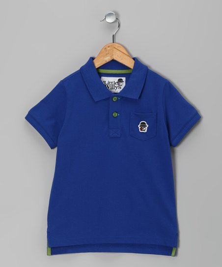 Cobalt Blue Polo - Toddler & Boys