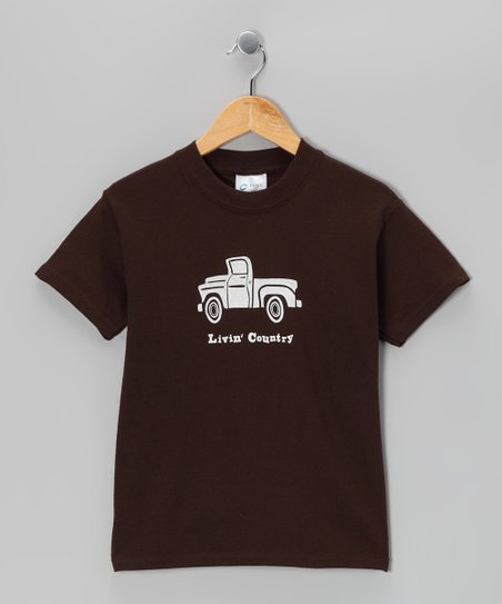 Brown Truck Tee - Kids