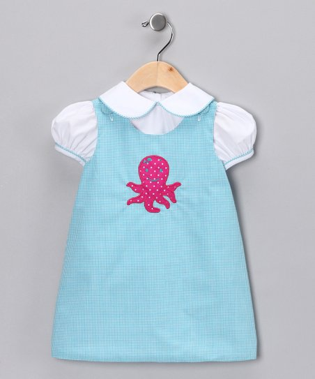 Aqua Octopus Top & Jumper - Infant, Toddler & Girls