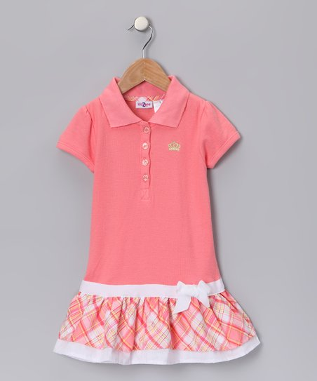 Sherbet Polo Drop-Waist Dress - Toddler &amp; Girls 