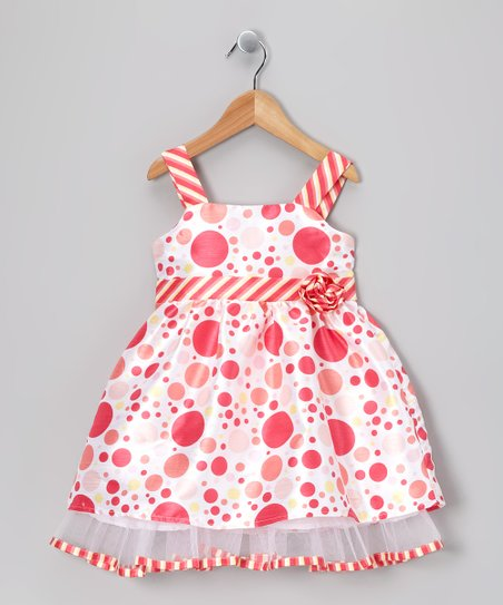 Pink Polka Dot Dress - Infant, Toddler & Girls