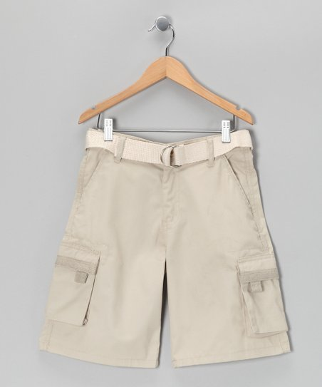 Stone Cargo Shorts
