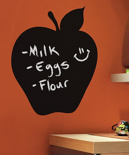 Apple Chalkboard Wall Decal