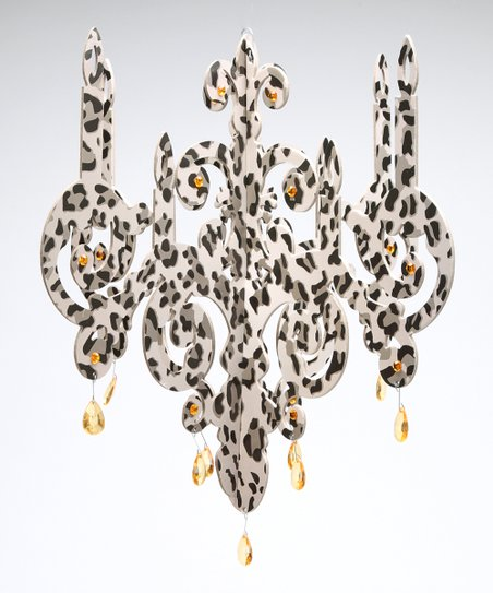 Cheetah Chandelier