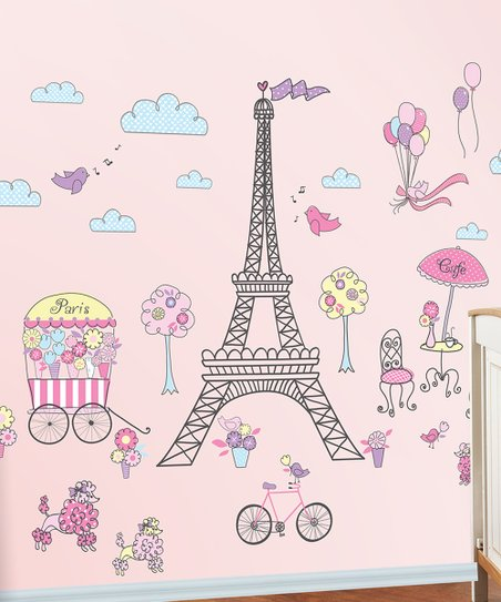 Ooh La La Wall Decal Set