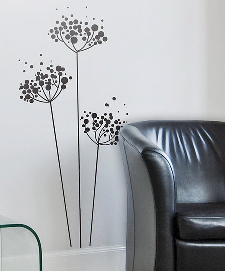 Bubble Flower Wall Decal Set