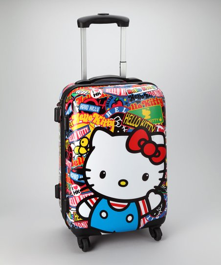 Hello Kitty Sticker Suitcase