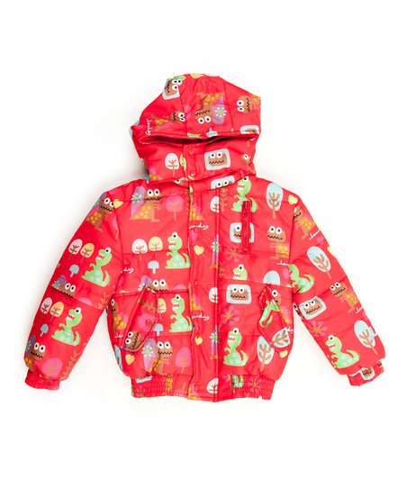 Red Jurassic Bomber Jacket - Infant, Toddler &amp; Boys