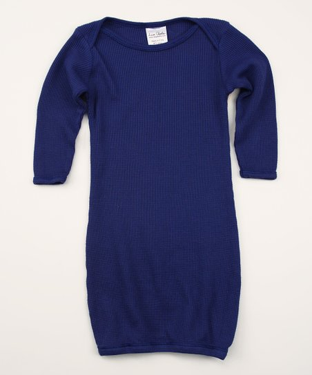 Astro Blues Organic Thermal Gown