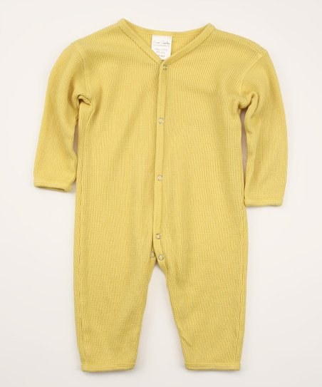Daffodil Thermal Organic Playsuit - Infant